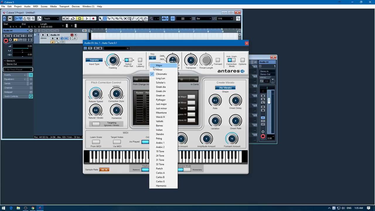 Hướng dẫn cài đặt Auto Tune 8 full bản 8.1 mới nhất sử dụng với Cubase.SĐT: 0868642394
