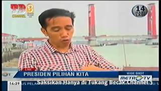 HoT !!!! JOKOWI Marah Besar Dibawah Jembatan Ampera PALEMBANG