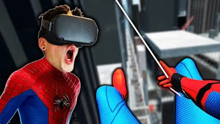 SWINGING THROUGH NEW YORK CITY AS SPIDER-MAN! (Spider-Man VR)