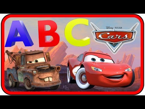 Cars ABC Song | Disney Nursery Rhymes Alphabet Song | Kids Songs