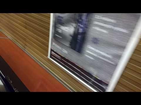 Jet speed escalators in Prague