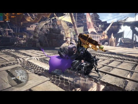 Monster Hunter World I New HD Texture Pack and TAA + FXAA Benchmark with Ryzen 5 2600X and RTX 2070 thumbnail