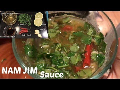 Nam Jim Sauce Recipe | N.E Lets Eat