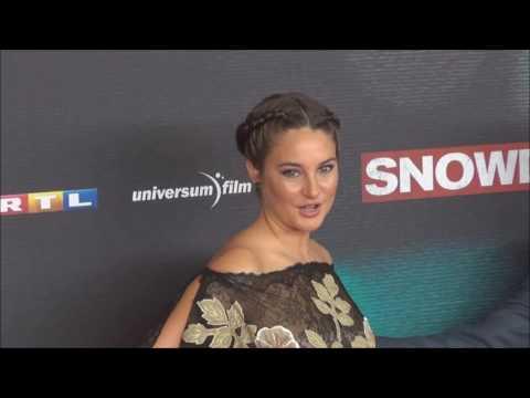 SNOWDEN Europapremiere Joseph Gordon Levitt @Shailene Woodley @ Oliver Stone Munich 19 09 16 Teil II