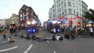 360-Grad-Video: Demonstrationen und Auseinandersetzungen zum G20-Gipfel