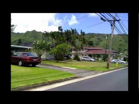 Manoa, Hawaii Driving Tour - See Manoa Real Estate at www.alohatony.com