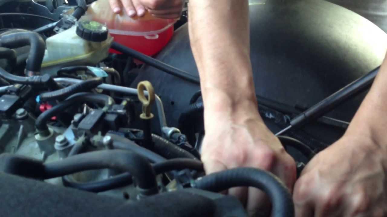 Spurgo Impianto Raffreddamento Opel Gt Youtube