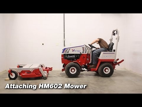 How To Connect Attachments To Ventrac 4500 Tractors