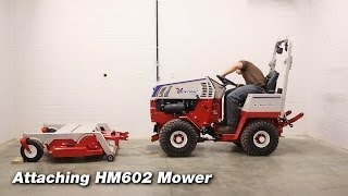 How to Connect Attachments to Ventrac 4500 Tractors Thumbnail