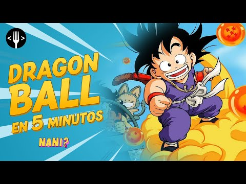 Dragon Ball resumido en 5 minutos (de DB a DBS) | NANI?