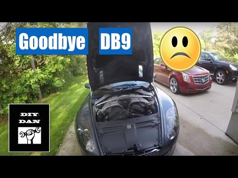 Saying goodbye to my Aston Martin DB9
