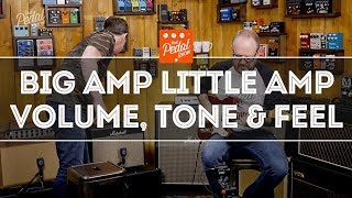 That Pedal Show – Big Amp, Little Amp & Thoughts On Volume, Tone & Feel For Playing Or Recording