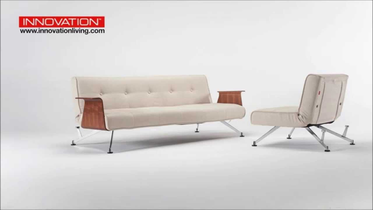 innovation clubber schlafsofa mit armlehnen produktvorstellung youtube. Black Bedroom Furniture Sets. Home Design Ideas