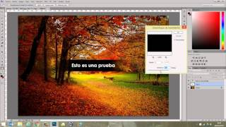 Cómo crear marca de agua con Photoshop CC