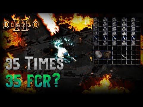 Diablo 2 - Rolling the runeword Spirit 35 times for a 125 fcr Hammerdin Build - DID I get it?