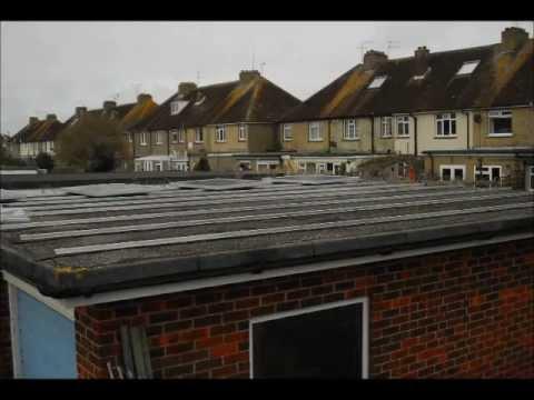 SunStore Solar 3.8kw Garage Flat Roof Installation.wmv