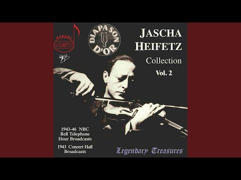 Violin Concerto No. 1 in A Minor, Op. 28: II. Air. Andante (Live)