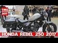 Honda Rebel 250 at 2017 Tokyo Motor Show | Honda Rebel 250 Custom Concept at 2017 Tokyo Motor Show