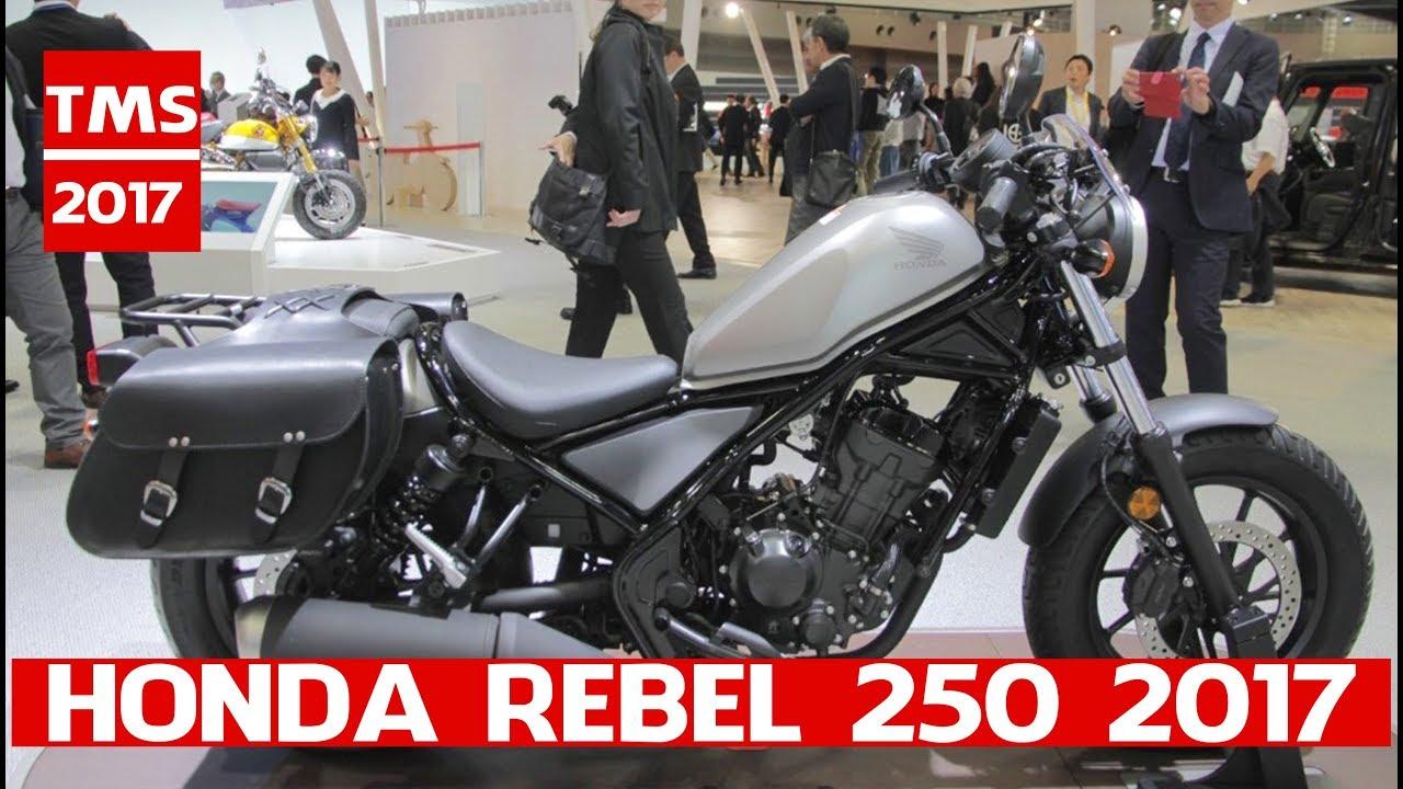 Honda Rebel 250 At 2017 Tokyo Motor Show Custom Concept