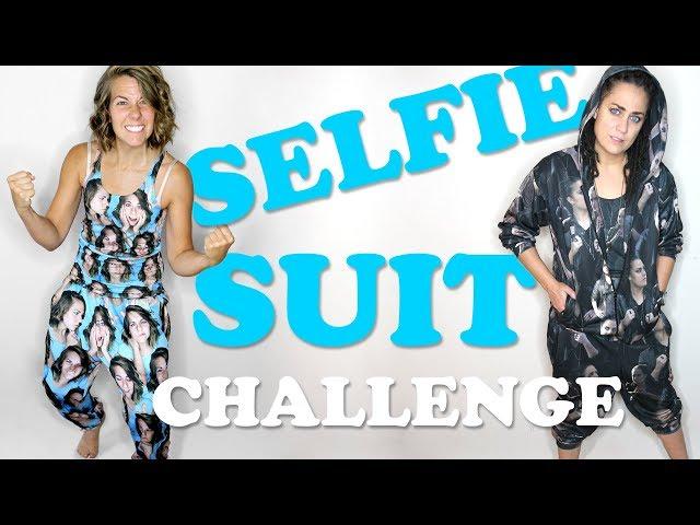 Selfie Suit Challenge + HOW TO GET YOUR OWN
