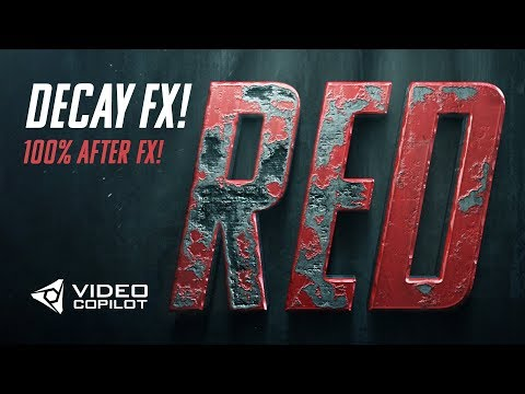 Advanced Damage & Decay FX Tutorial! 100% After Effects!