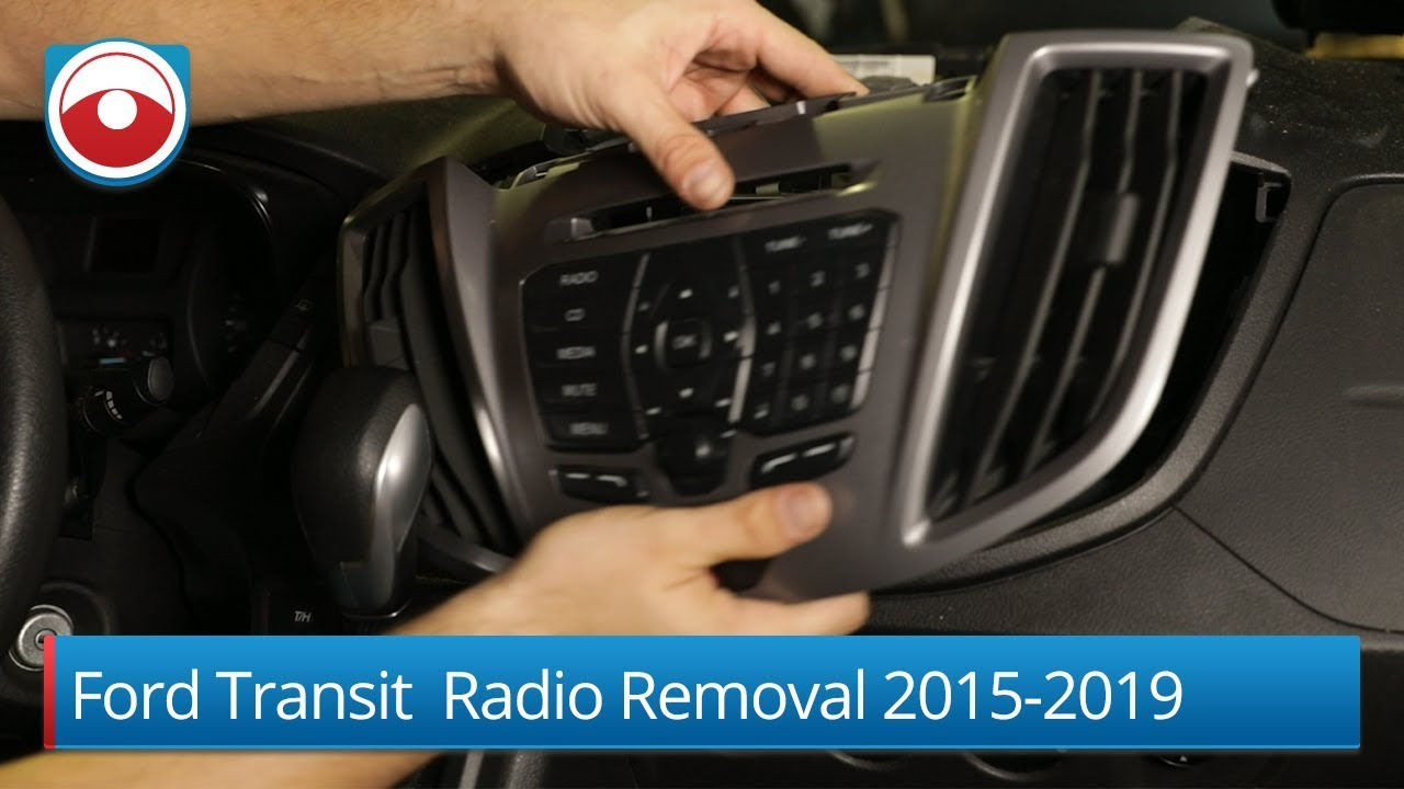 [DVZP_7254]   Ford Transit | Radio removal 2015-2019 - YouTube | Ford Turneo Audio Wiring Uk |  | YouTube