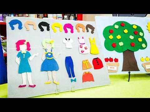 How To - DIY Children's Felt Board - Hallmark Channel