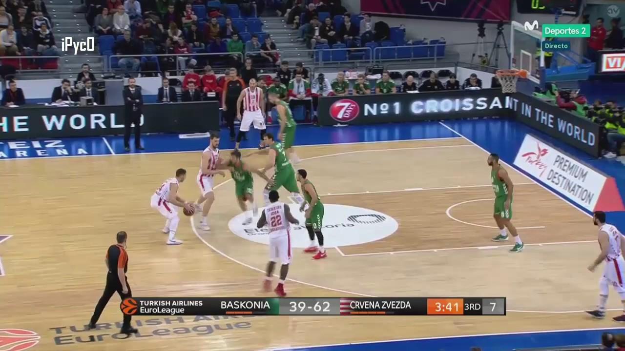 Stefan Jović vs Baskonia [18 points, 12 assists, 4 steals, 29PIR, EuroLeague 2016-17, Round 19]