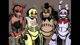 Fnaf Drawkill Animatronics and Springtrap Montage