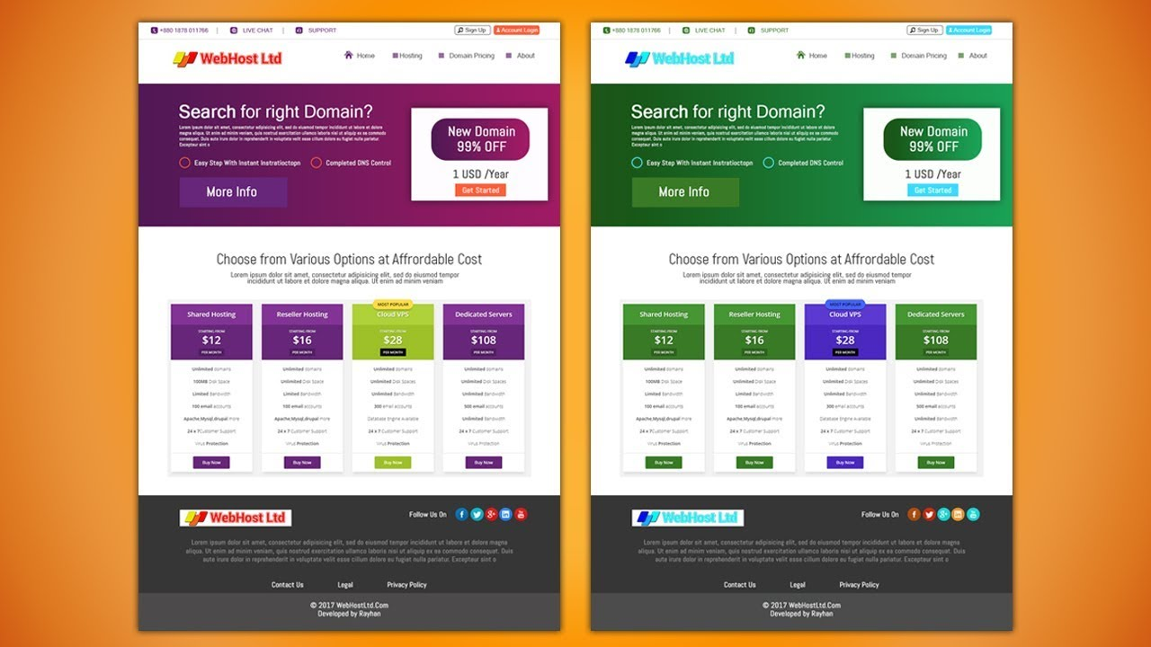 How to make responsive website design in photoshop