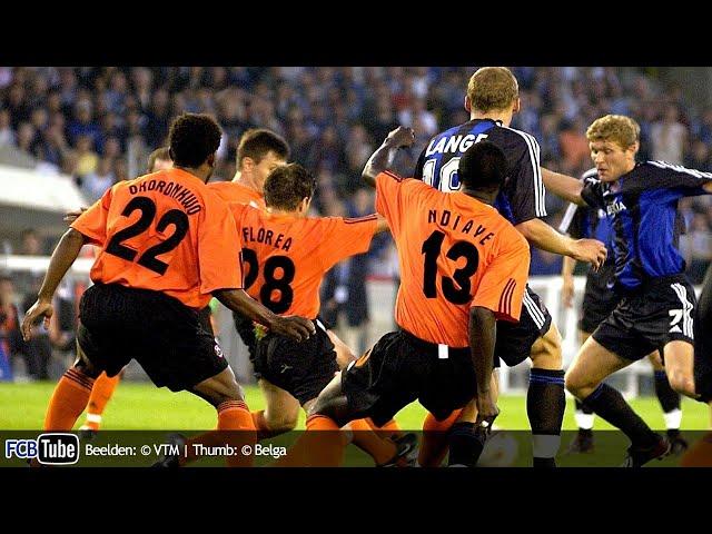 2002-2003 - Champions League - 04. 3de Voorronde - Club Brugge - Shakhtar Donetsk 1-1 (pen. 4-1)