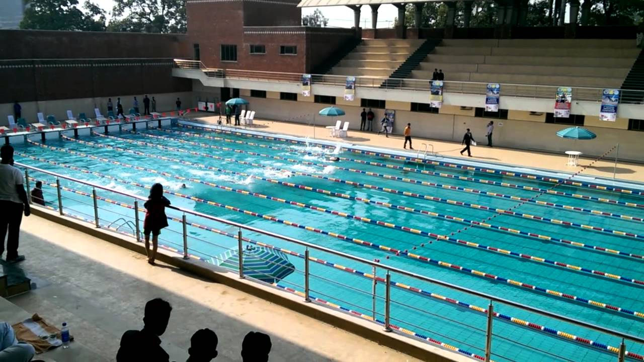50m Butterfly Sports Board Punjab Swimming Pool Youtube