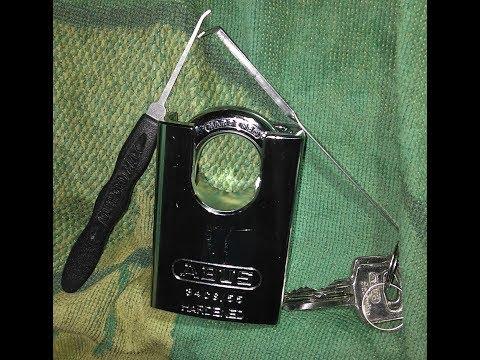 Взлом отмычками ABUS   Lock Picking Abus 34CS/55 Padlock (Abus Padlock (55mm) - I got this padlock from Amazon. It