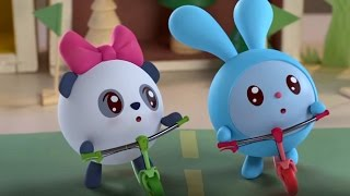 Малышарики  - Чемпионы - серия 58 -  обучающие мультфильмы для малышей 0-4