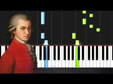 Mozart - Minuet in G, K1 - Piano Tutorial by PlutaX