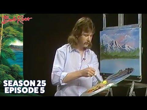 Bob Ross - Summer in the Mountain (Season 25 Episode 5)