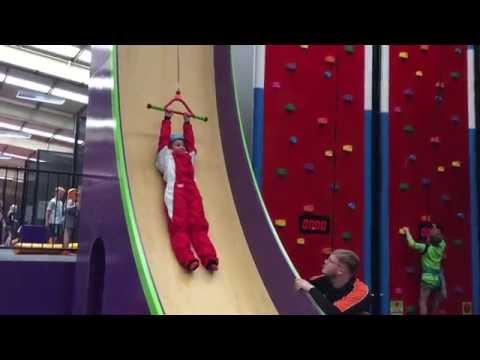 Velocity Trampoline Park Wigan   Clip 'n' Climb   Vertical Drop