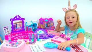 ناستيا وبيت لعب الجديد, ألعاب مكياج جميلة للفتيات