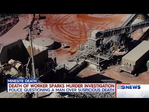 Mine Site Death | 9 News Perth