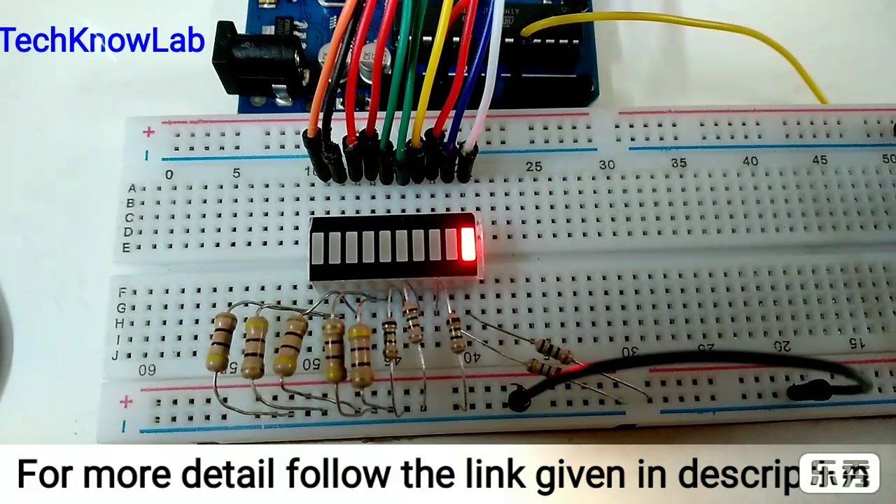 Led Bar Graph With Arduino Youtube How To Connect An A Circuit
