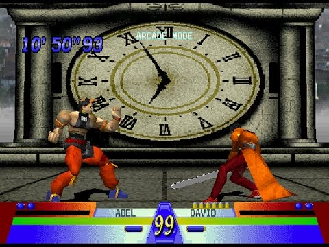 Battle Arena Toshinden 3 [PS1] - play as Abel