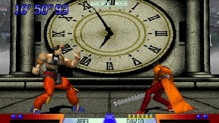 Battle Arena Toshinden 3 [PS1] - play as Abel (old)
