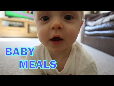 WHAT MY BABY EATS IN A DAY / WEANING / MILK ALLERGY / WEANING MEAL IDEAS / 10 MONTHS OLD