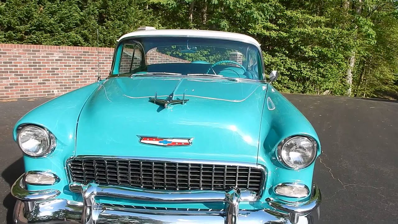 1955 Chevy BelAir Hardtop for sale Old Town Automobile in Maryland ...