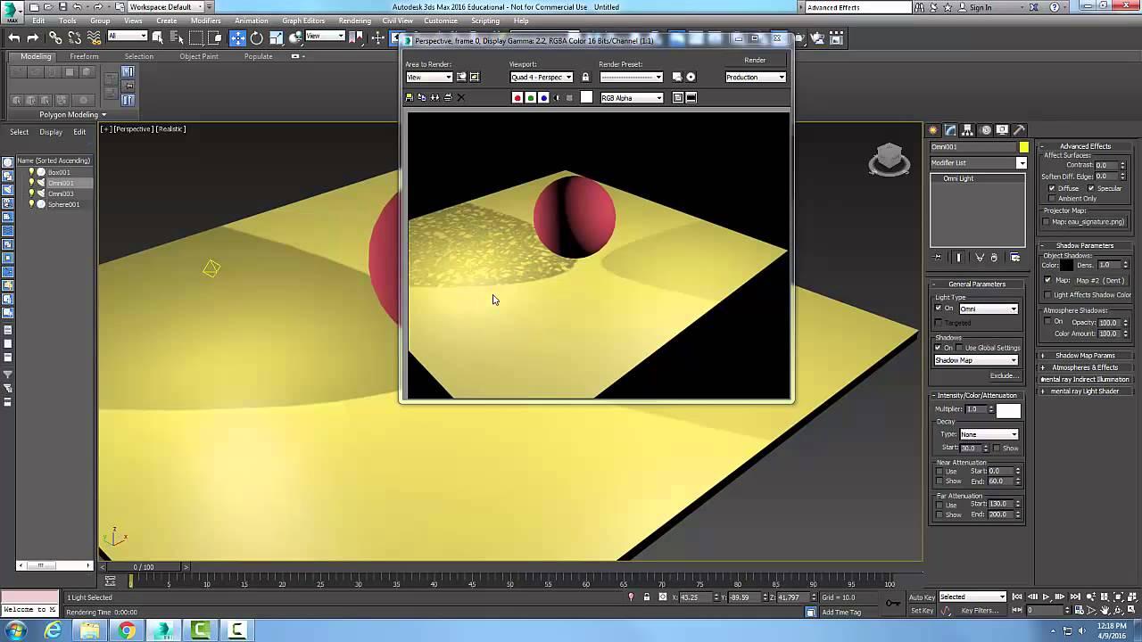 Kết quả hình ảnh cho Omni light 3dsmax