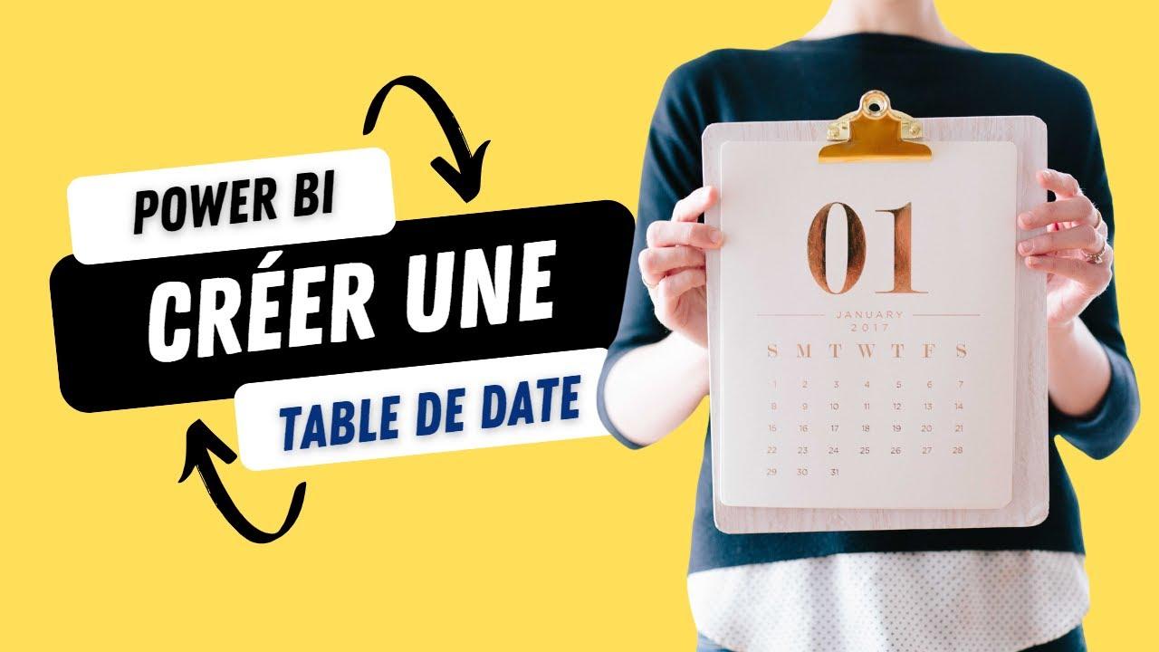 Power BI Desktop - Date Tables