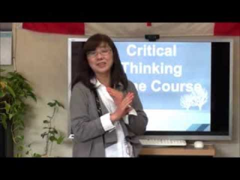 Critical Thinking Free Online Course 3回目開講