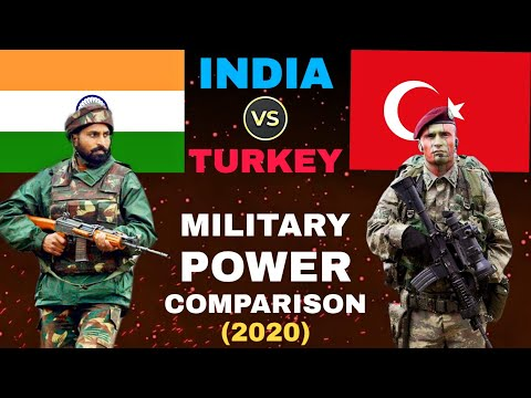 INDIA VS TURKEY MILITARY POWER COMPARISON (2020)