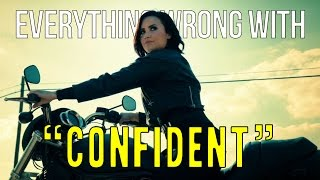 "Everything Wrong With Demi Lovato - ""Confident"""