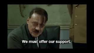 Hitler finds out about the Tokyo 2020 Olympics